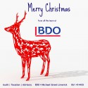 Season's Greetings from all at BDO